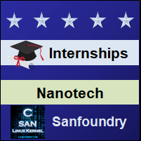 Bangalore Internships - Nano Technology Engineering