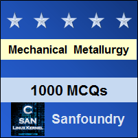 Mechanical Metallurgy Interview Questions and Answers