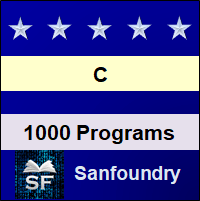 C Programming Examples - Arrays