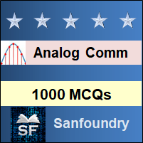 Analog Communication MCQ - Multiple Choice Questions and Answers