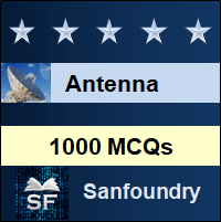 Antenna MCQ - Multiple Choice Questions and Answers