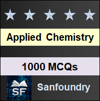 Applied Chemistry MCQ - Multiple Choice Questions and Answers