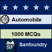 Automobile Engineering MCQ - Multiple Choice Questions and Answers
