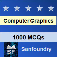 Computer Graphics MCQ - Multiple Choice Questions and Answers
