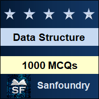 Data Structure MCQ - Multiple Choice Questions and Answers