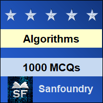Design & Analysis of Algorithms MCQ - Multiple Choice Questions and Answers
