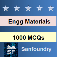 Engineering Materials and Metallurgy MCQ - Multiple Choice Questions and Answers