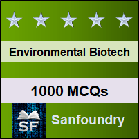 Environmental Biotechnology MCQ - Multiple Choice Questions and Answers