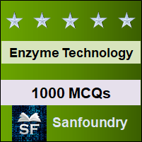 Enzyme Technology MCQ - Multiple Choice Questions and Answers
