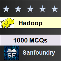 Hadoop MCQ - Multiple Choice Questions and Answers