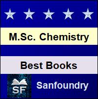M.Sc. Chemistry Books