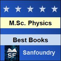 M.Sc. Physics Books