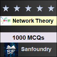 Network Theory MCQ - Multiple Choice Questions and Answers
