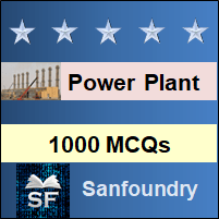 Power Plant Engineering MCQ - Multiple Choice Questions and Answers