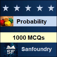 Probability and Statistics MCQ - Multiple Choice Questions and Answers
