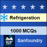 Refrigeration and Air Conditioning MCQ - Multiple Choice Questions and Answers