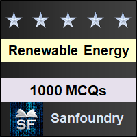 Renewable Energy MCQ - Multiple Choice Questions and Answers