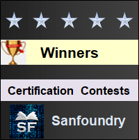 Sanfoundry Certification Contests Results