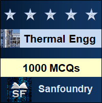 Thermal Engineering MCQ - Multiple Choice Questions and Answers